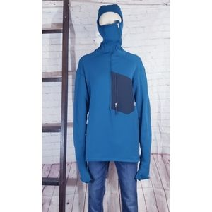 Patagonia Pullover with built in facemask